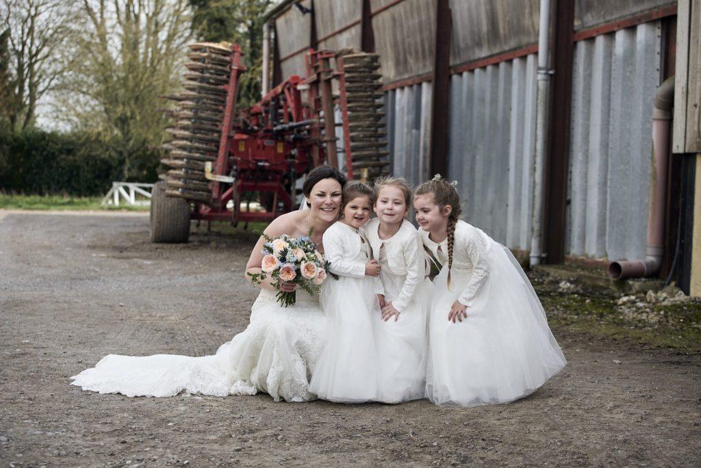 Farmyard Wedding in Wyle, Warminster - Wedding Photographer